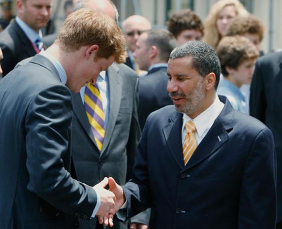 Prince Harry Visits New York City