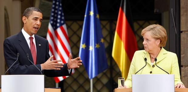 Obama In Germany
