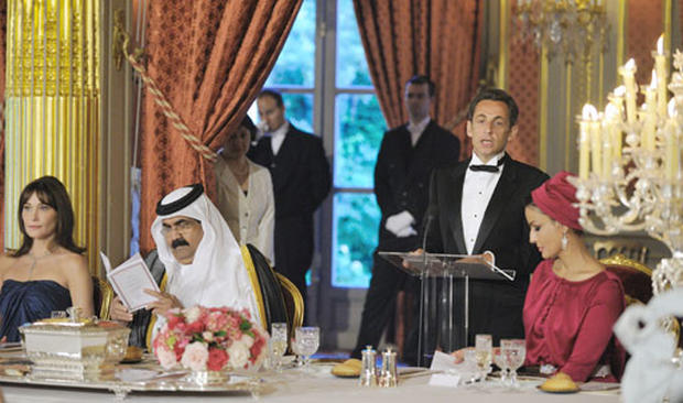 State Dinner In Paris