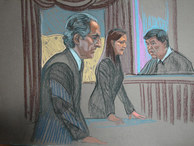 Court Sketches: Madoff Sentencing