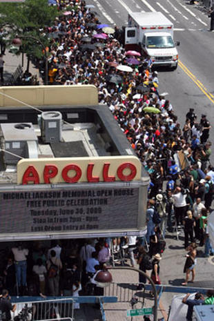 Jackson Tribute at the Apollo