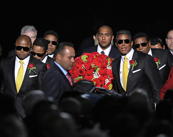 Jackson Family Says Goodbye
