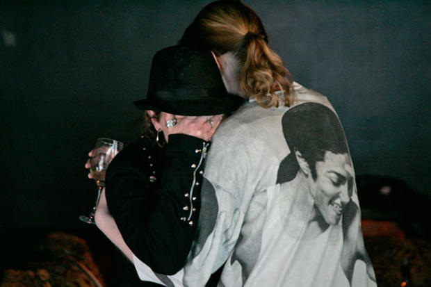 Tears for Michael Jackson