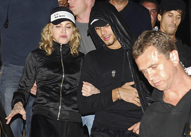 Madonna in the Mideast