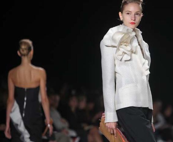 Spring Blooms During Fashion Week
