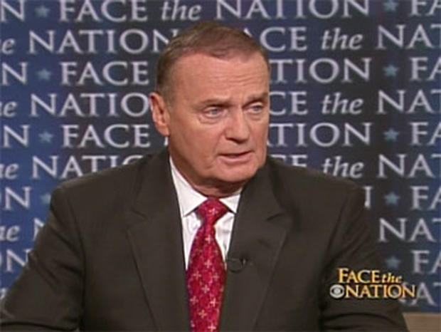 "National Security Adviser Gen. Jim Jones, on ""Face the Nation,"" Oct. 4, 2009."