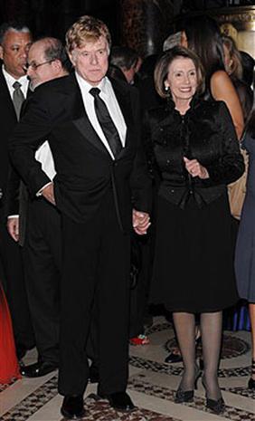 Who's with Nancy Pelosi?