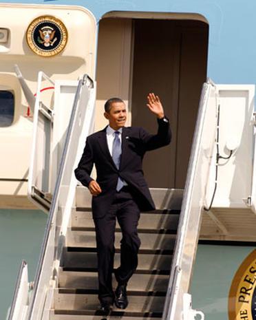 President Obama in New Orleans