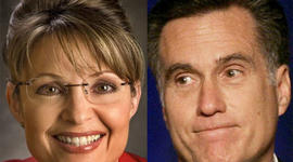 Sarah Palin and Mitt Romney