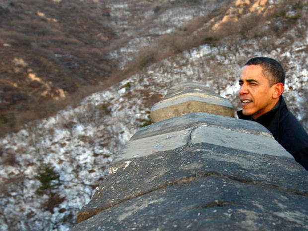 Obama's Great Wall Tour