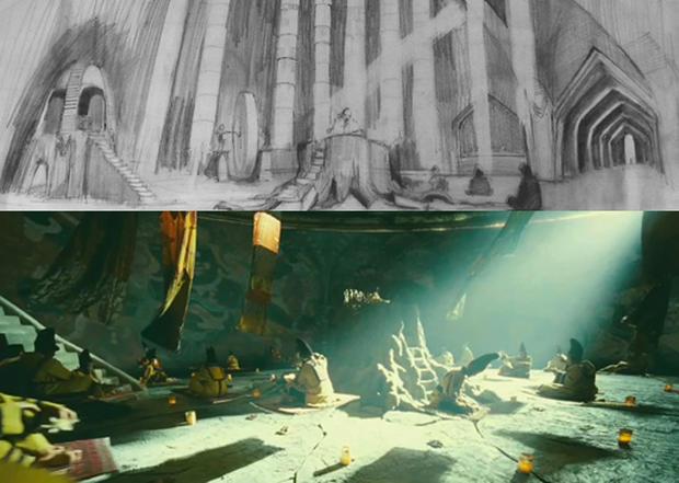 """Designing Terry Gilliam's """"Imaginarium"""""""