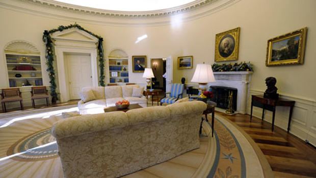 Obama's Oval Office