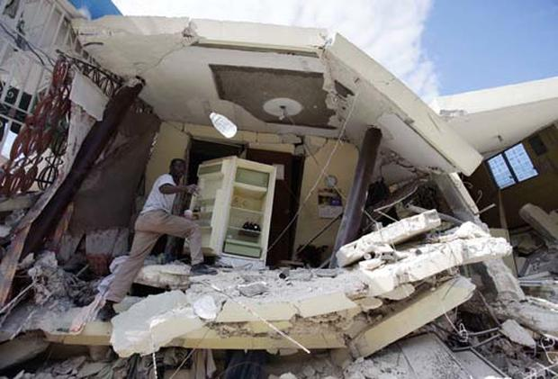 Haitians Seek Shelter
