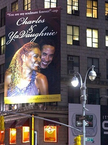 Scorned Lover's Billboard Revenge