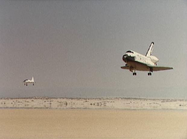 When the space shuttle was new