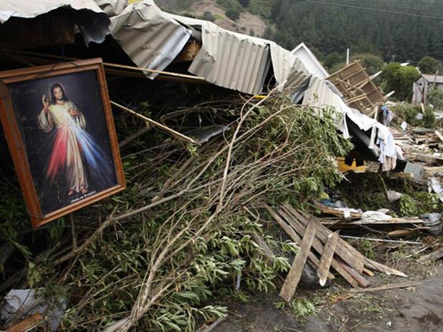 Chile Earthquake Aftermath