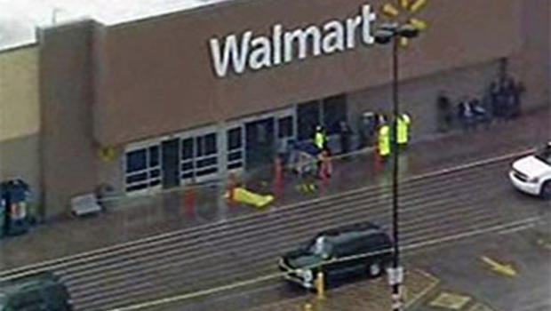 Walmart Shootout Results In Gunman Dead And Officer