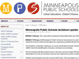 Mpls. Schools Locked Down After Web Threat