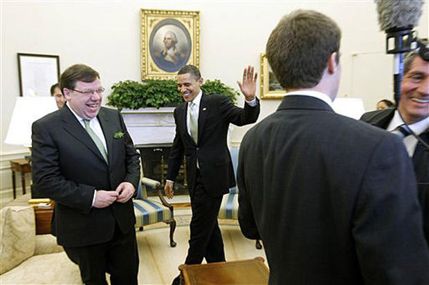 Shamrocks and the White House