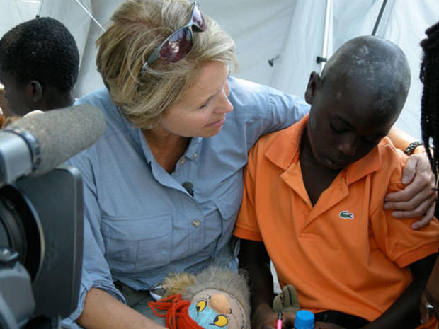 Katie Couric Returns to Haiti