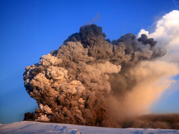 Iceland's Fiery Volcano