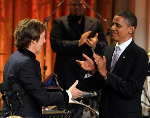 Paul McCartney Honored at White House