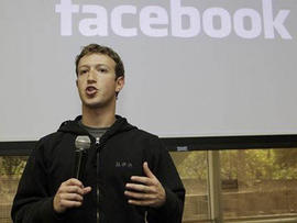 On tour of UK, Facebook CEO Mark Zuckerberg predicts 1 billion users