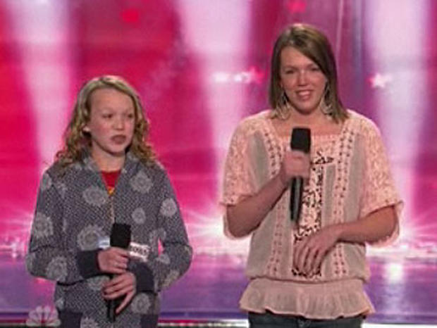 Christina and Ali perform on America's Got Talent (NBC)