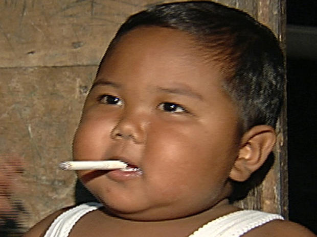 All About the Smoking Baby