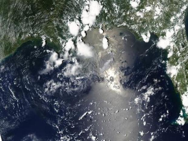 NASA's Newest Images of the Gulf Oil Slick