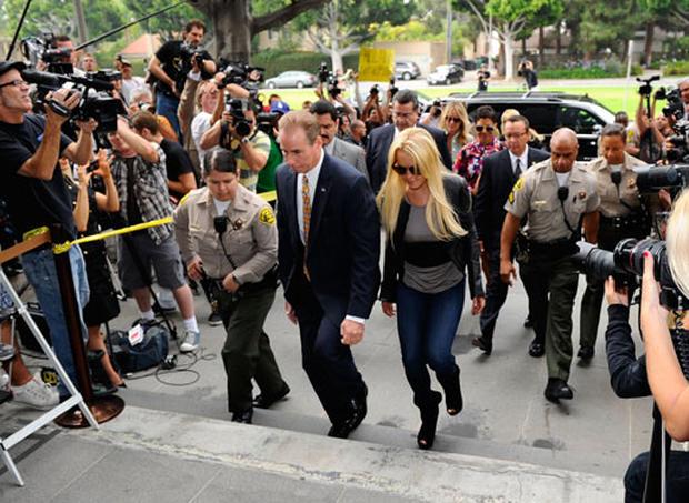 Lindsay Lohan Surrenders