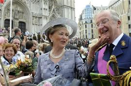 Belgian Royals on National Day