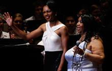 Aretha and Condoleeza Make Music