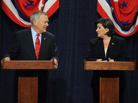 Nathan Deal and Karen Handel