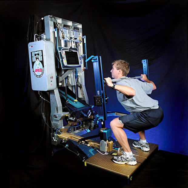 can astronauts exercise in space - photo #38