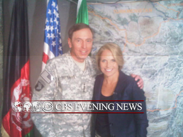 Katie Couric in Afghanistan