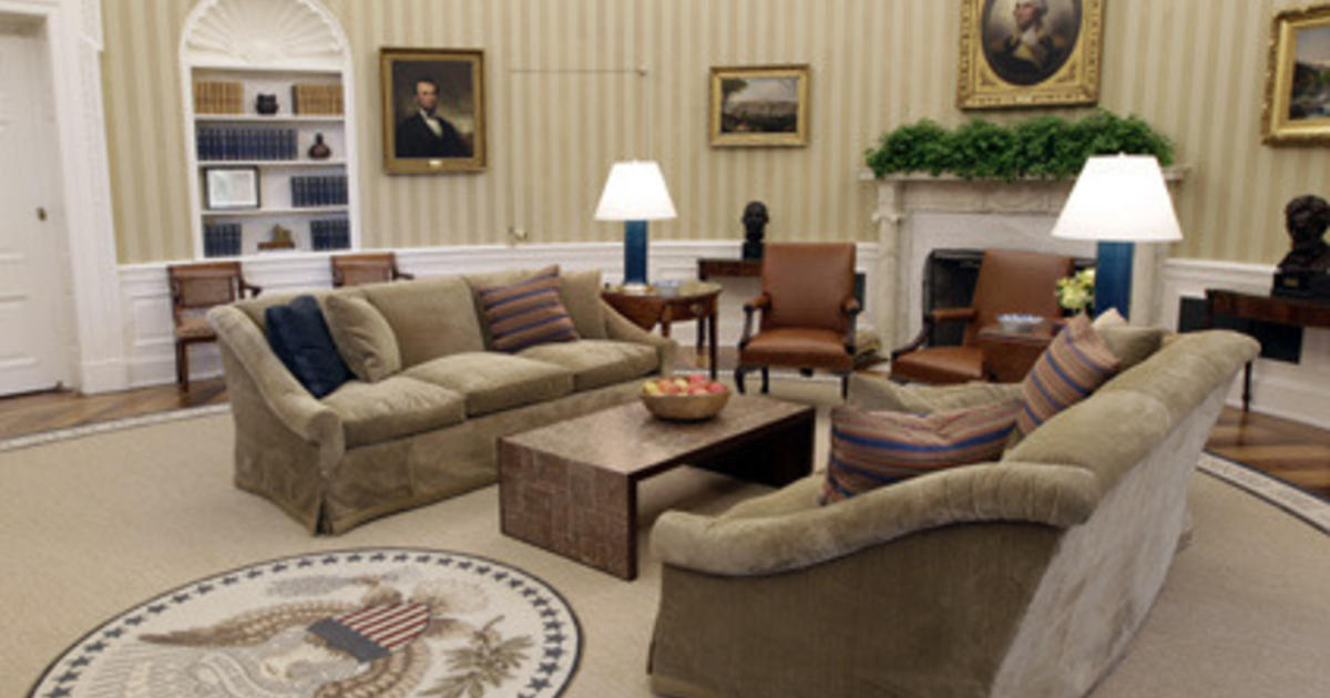 Obama S Oval Office Gets A Makeover Cbs News