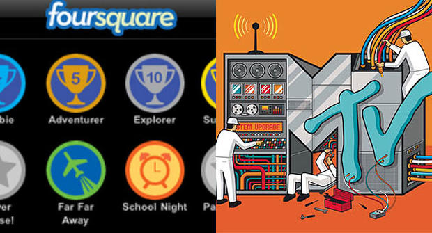 "Foursquare and MTV team up for ""Get Yourself Tested"" campaign to promote STD testing."
