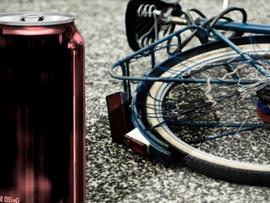Police Say Drunk Bicyclist Ignored Lights And Siren