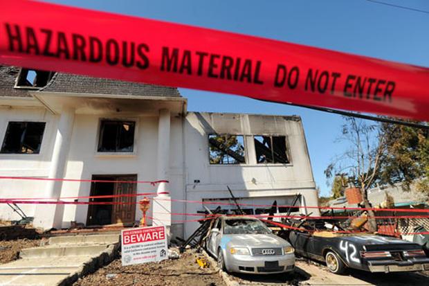 San Bruno Explosion Aftermath