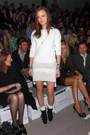 Stars Heat Up Fashion Week