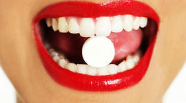 red, lips, mouth, pill, health care, healthcare
