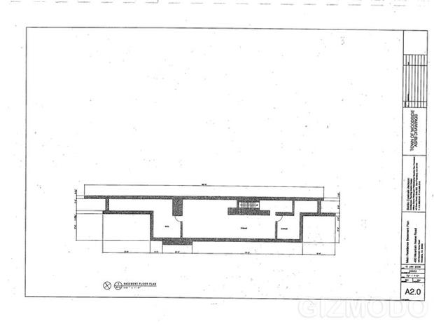 Plans for Steve Jobs     New House   Photo   Pictures   CBS News    Plans for Steve Jobs     New House