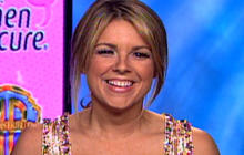 """The Bachelorette"" Ali Raises Breast Cancer Awareness"