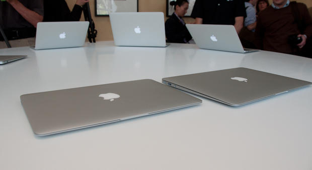 Steve Jobs said all notebooks will be like the MacBook Air some day. That means no hard drive.