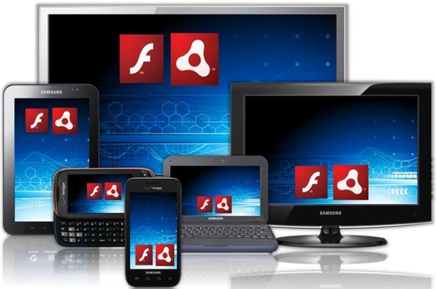 Adobe wants to spread Flash and AIR to a multitude of computing devices.