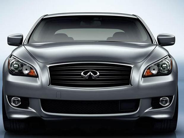 Nissan Debuts a Hybrid Vehicle, the Luxury Infiniti M ...