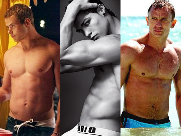Hollywood's Hunkiest Abs