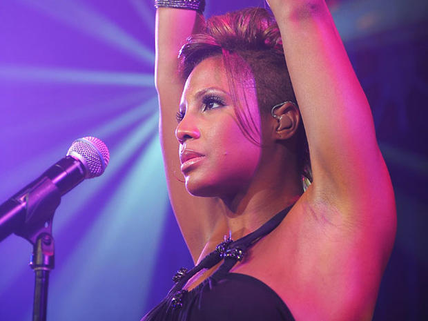 Toni Braxton performs in New York on May 3, 2010.