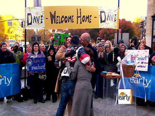 Welcome Home, Dave Price!